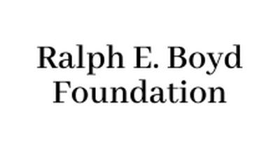 Logo for sponsor Ralph E. Boyd Foundation